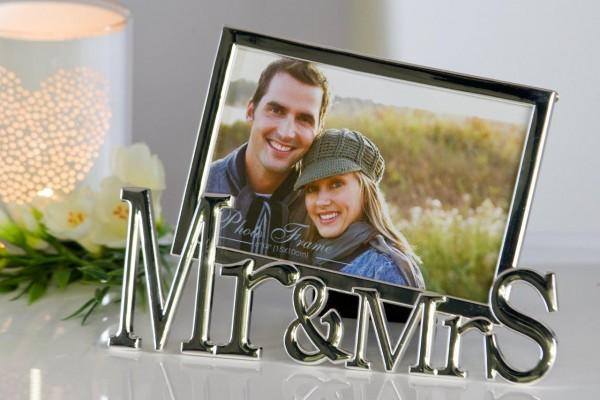 Bilderrahmen Mr. & Mrs. Deluxe