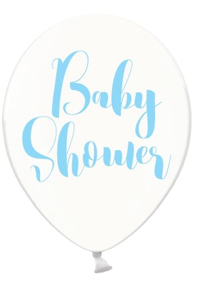 Luftballon Babyshower Blau