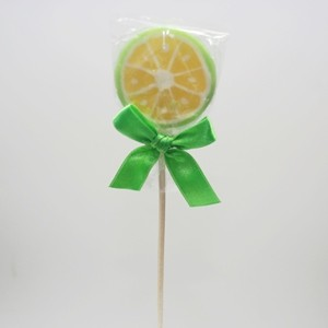 Lollypop Zitrone