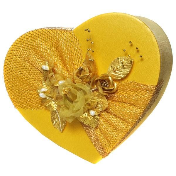 Geschenkbox Goldenes Herz