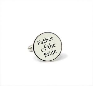 Manschettenknöpfe Brautvater
