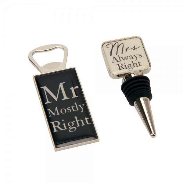 Getränkeset Mr. & Mrs.