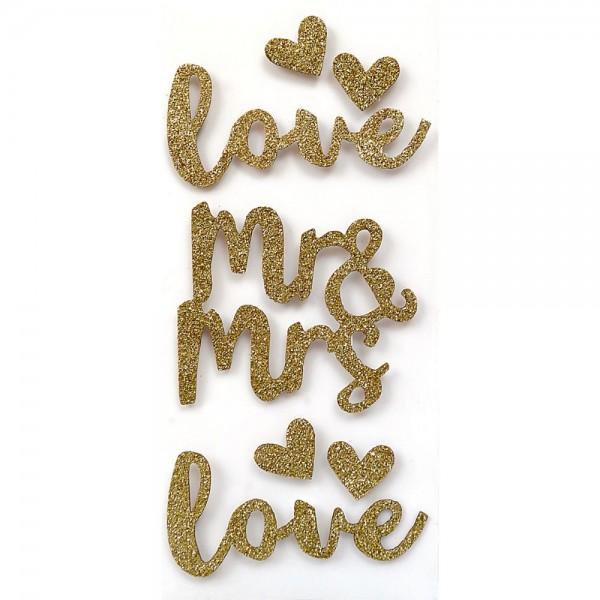 Sticker Mr. & Mrs.