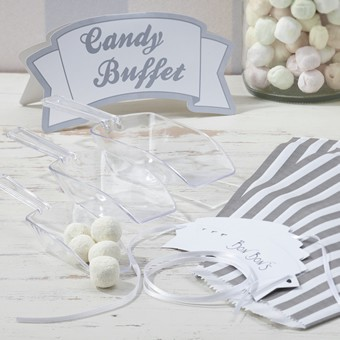 Candybar-Set Silber