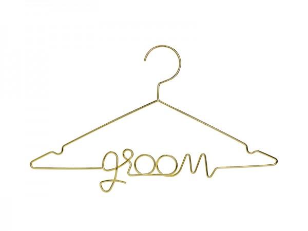 Kleiderbügel Groom Gold