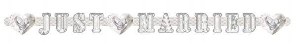 Banner Just Married - Ringe