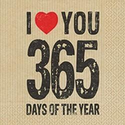 Servietten 365 Tage