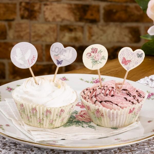 Cupcake Sticks Sweet Romance