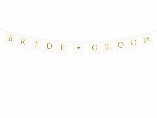 Banner Bride & Groom