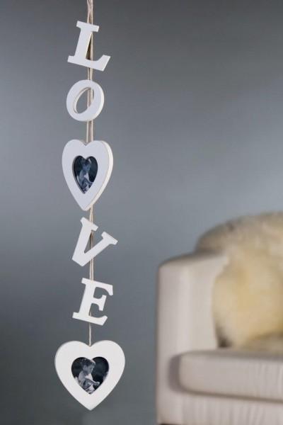 Bilderrahmen Love - hängend