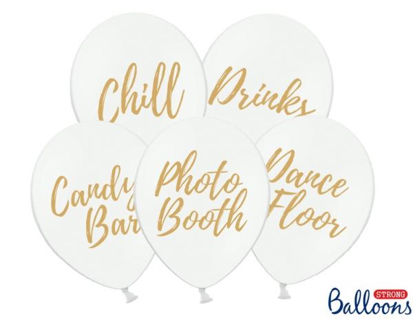 Luftballon-Set Hochzeitsfeier