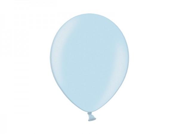 Luftballon Hellblau