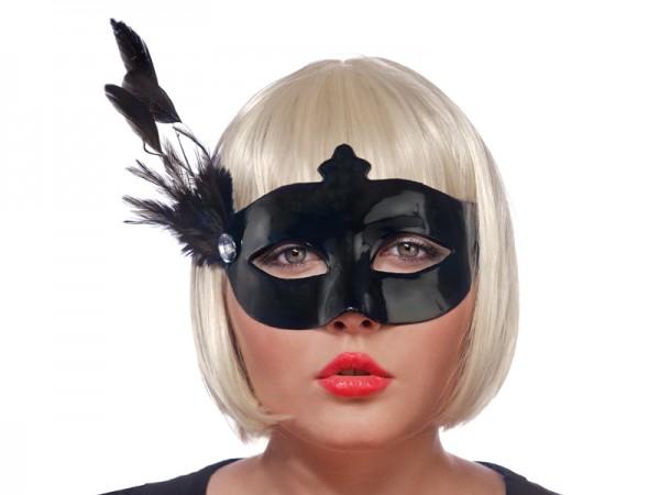 Maske Black Lady