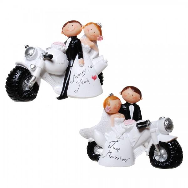 Tortenfigur Comic  Motorrad