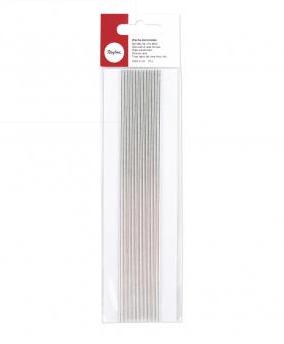 Wachs-Zierstreifen 2mm Silber