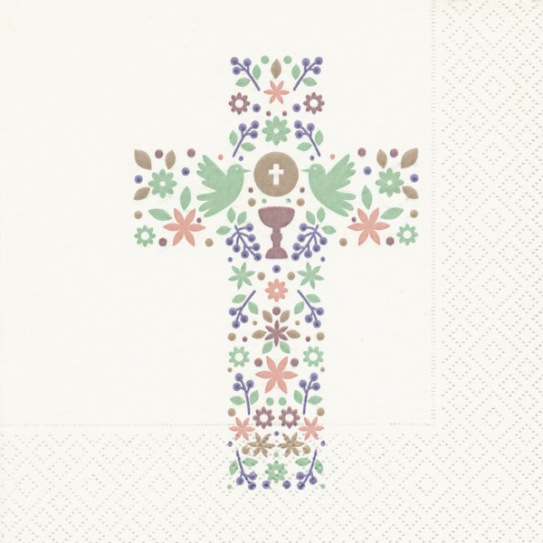 Servietten Kreuz