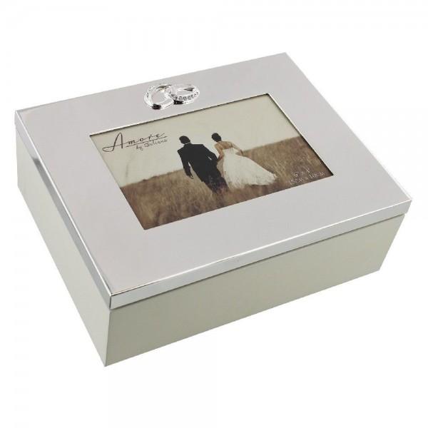 Erinnerungsbox Silber