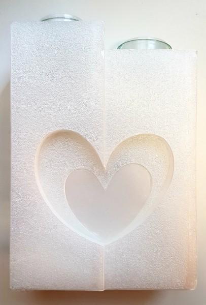 Hochzeitskerze Edel Herzen
