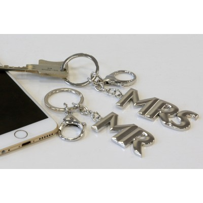 Schlüsselanhänger Mr. & Mrs.