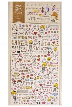 Sticker Love Comic