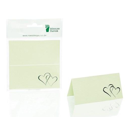 Tischkarte Coeur