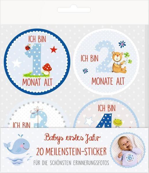 Meilenstein-Sticker Babyboy