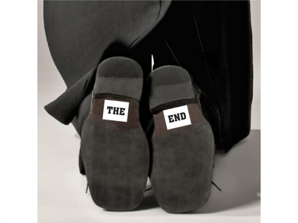 The End Schuh-Sticker