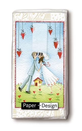 Taschentücher Hochzeitspaar