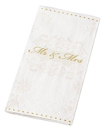 Taschentücher Mr. & Mrs. Gold