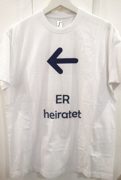T-Shirt Er heiratet