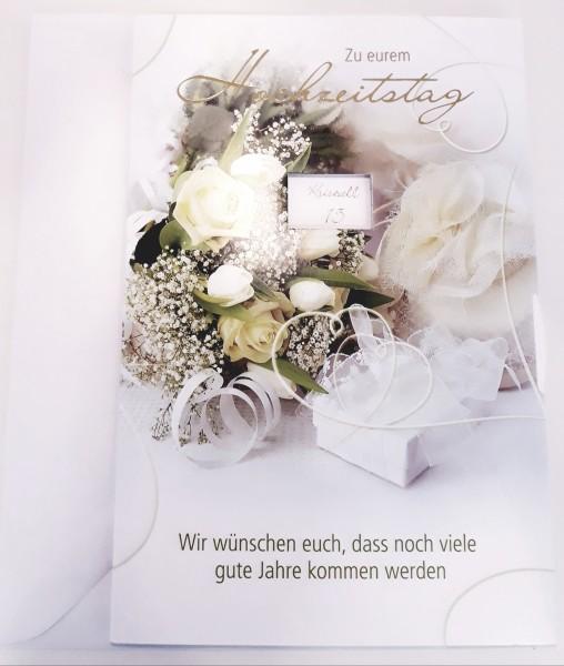 Billet Zum Hochzeitstag - verstellbar