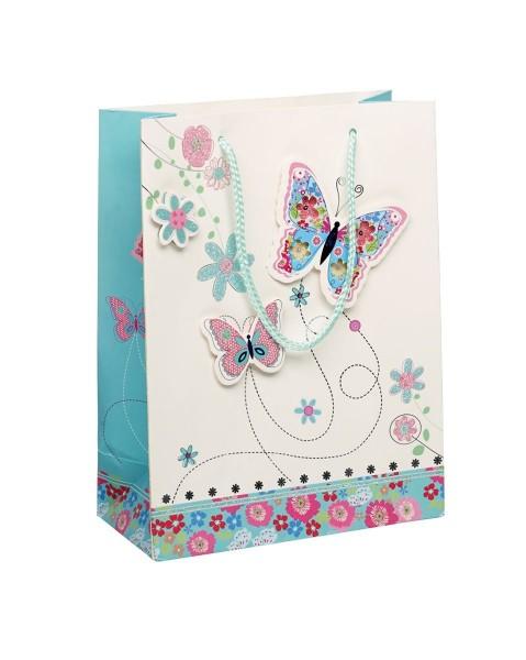 Geschenksackerl Schmetterling