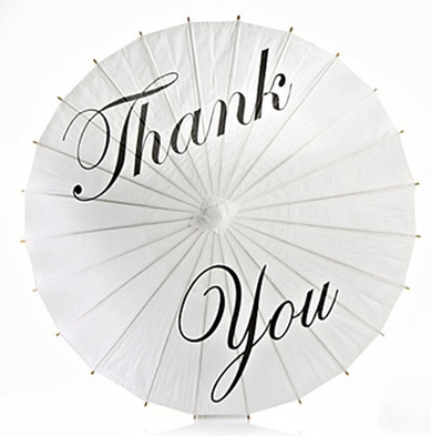 Schirm Thank You