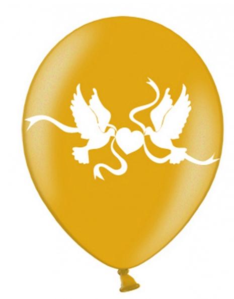 Luftballon Tauben