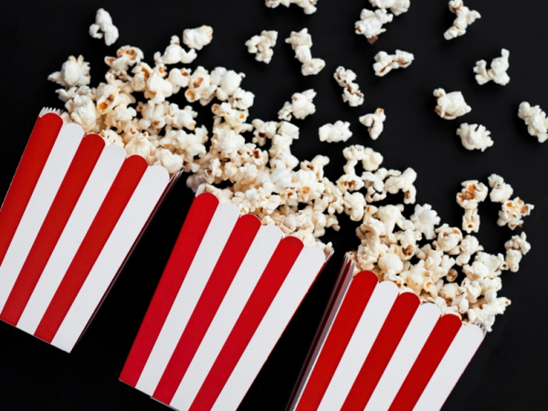 Popcornboxen Rot-Weiß