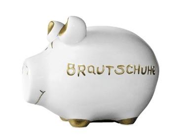 Sparchwein Brautschuhe