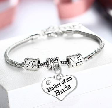 Armband Brautmutter Silber
