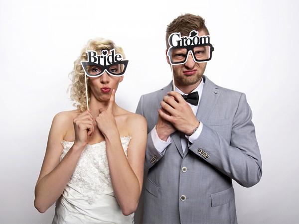 Photo Booth-Set Bride & Groom