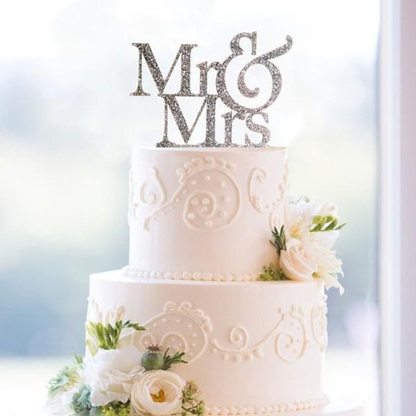 Tortendeko Mrs. & Mrs. Rustikal
