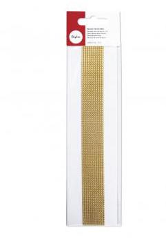 Wachs-Perlstreifen 2mm Gold