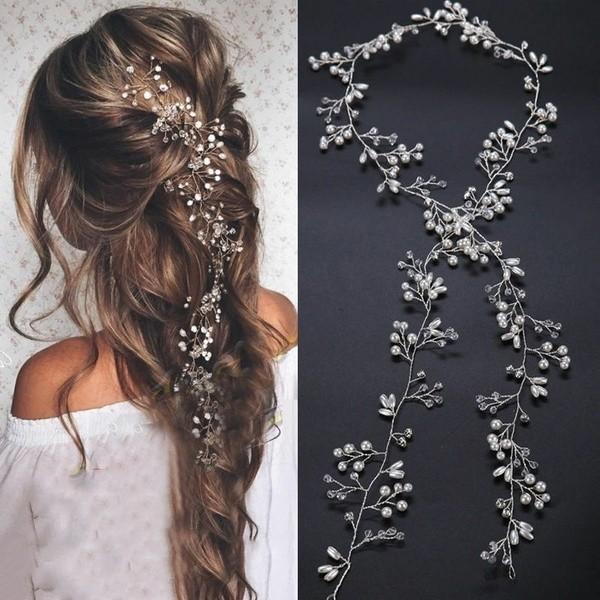 Hair Vine Haarband Silber