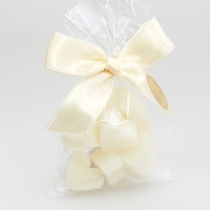 48 Geschenksäckchen Mini-Seifenherzen