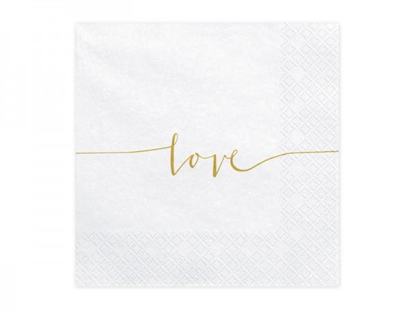 Servietten Love
