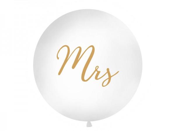 Jumbo-Ballon Mrs.