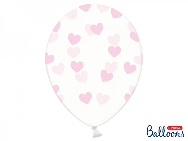 Luftballon Pinke Herzen