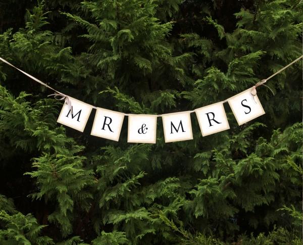 Banner Mr. & Mrs.