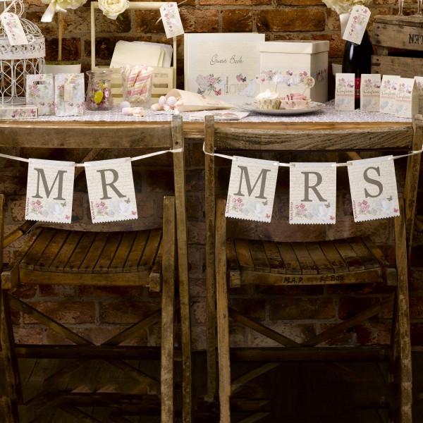 Banner Mr. & Mrs. - Sweet Romance