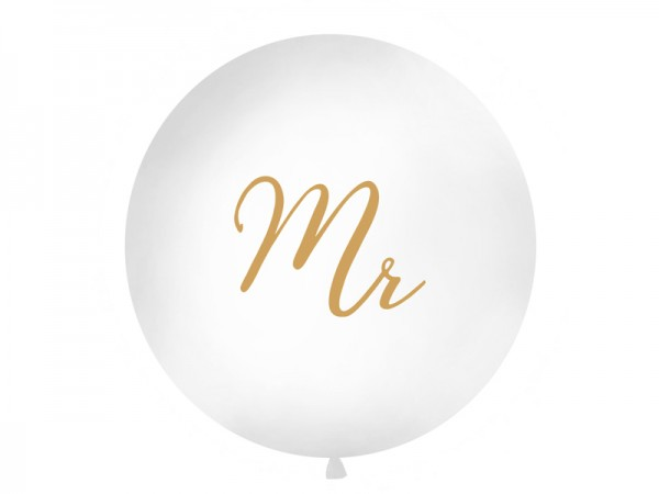 Jumbo-Ballon Mr.