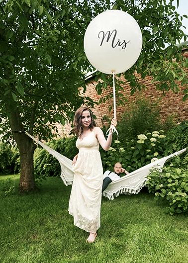 Jumbo-Ballon Mrs