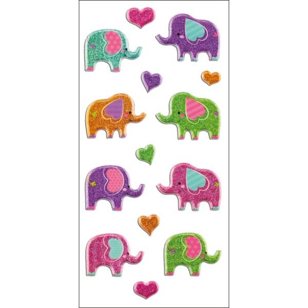 Sticker Elefanten